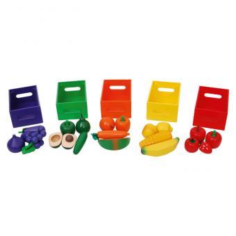 Sortier-Set Obst und  Gemüse