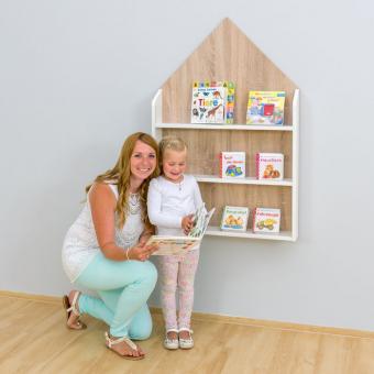 Bücherregal Haus