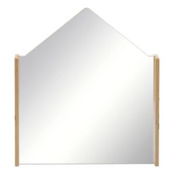 Trennwände zum Bauen von Spielecken Trennwand Haus mit Acrylglasspiegel