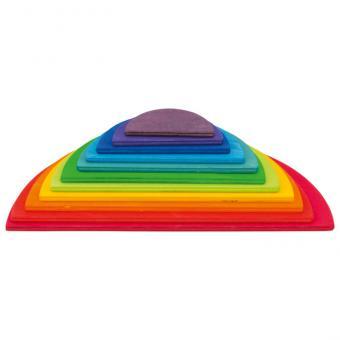 Große Regenbogen-Halbkreise