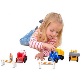 Baustellenfahrzeuge-Set