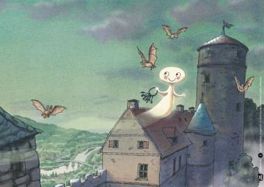 Kamishibai-Bildkarten, Das kleine Gespenst