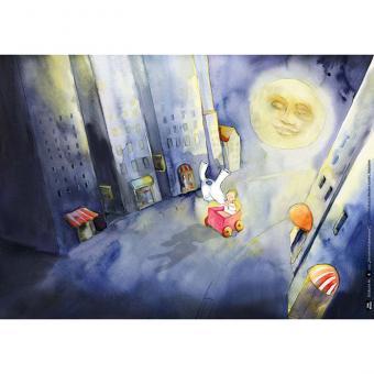 Kamishibai-Bildkarten, Der kleine Häwelmann