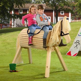 Kindergarten-Holzpferd Libelle - B-Ware