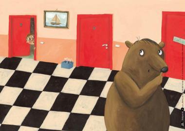 Mama, da steht ein Bär vor der Tür