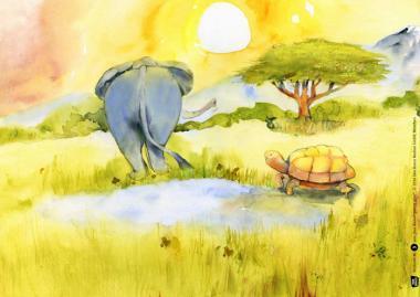 Kamishibai-Bildkarten, Das Wasser gehört allen
