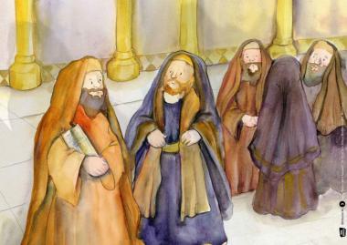 Kamishibai-Bildkarten, Paulus wird Apostel