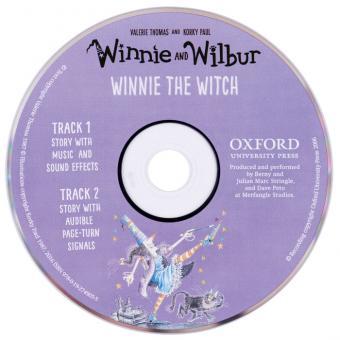 Winnie the Witch Buch + Audio CD