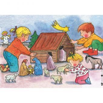 Kamishibai-Bildkarten, Advent und Weihnachten