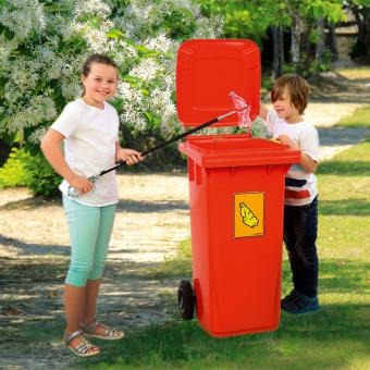Aufkleber Mülltrennung