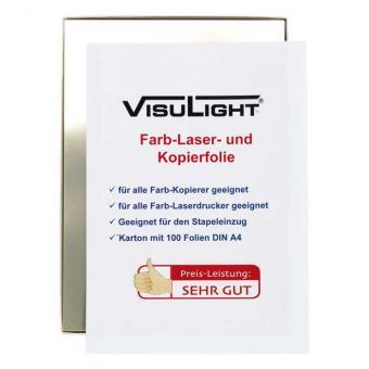 Visulight Farb-Laser- und Kopierfolien DIN A4