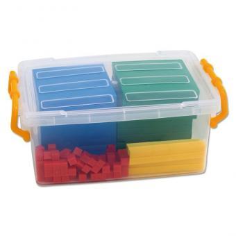 Systemblöcke Dezimalrechnen – in der transparenten Box