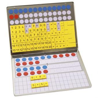 1, 2, 3,... Zahlenzauberei Rechen-Magnetbox -