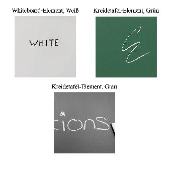 Modulare Whiteboard-Wand