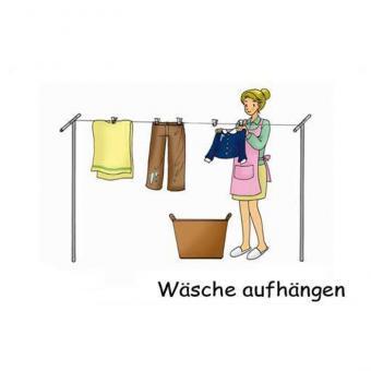 Bildkarten Hausarbeit