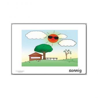 Bildkarten Wetter und Jahreszeiten