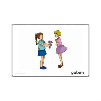 Bildkarten Verben 3