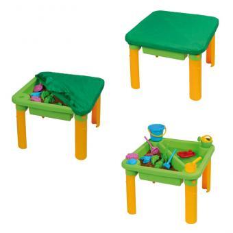 Geteilter Sand- und Wasser-Spieltisch