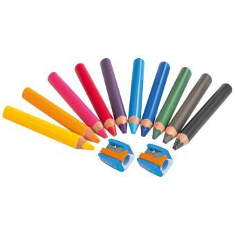 60 Super JUMBO Farbstifte
