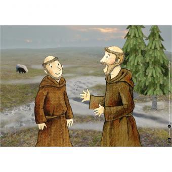 Kamishibai-Bildkarten, Franziskus und die erste Weihnachtskrippe