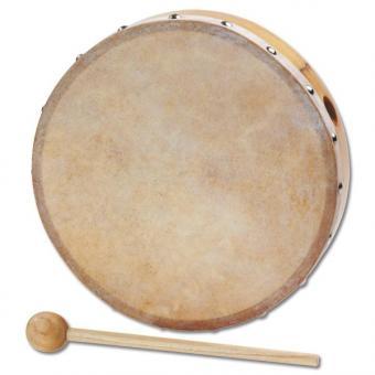 Tamburine Ø 25 cm + Schlägel