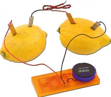 Die Zitronen-Uhr