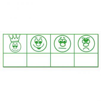 Stempel, mit 4 Gesichtern