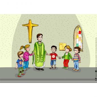 Kamishibai-Bildkarten, Weltreligionen: Was uns verbindet