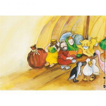 Kamishibai-Bildkarten, Noahs Arche