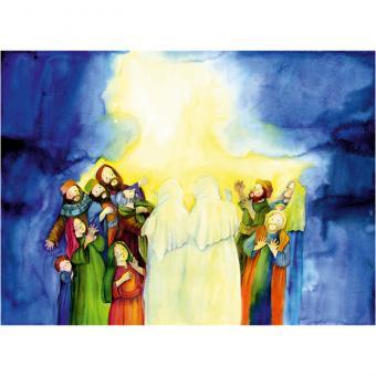 Kamishibai-Bildkarten, Gott schenkt seinen Geist