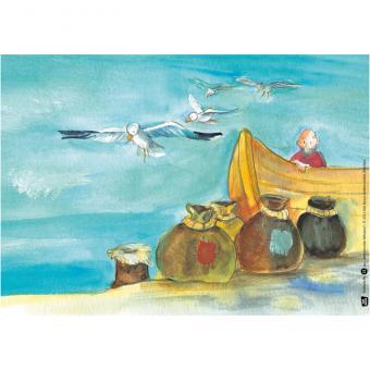 Kamishibai-Bildkarten, Wundervoller Nikolaus
