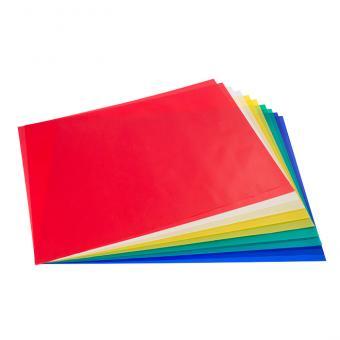 Transparentpapier, bunt