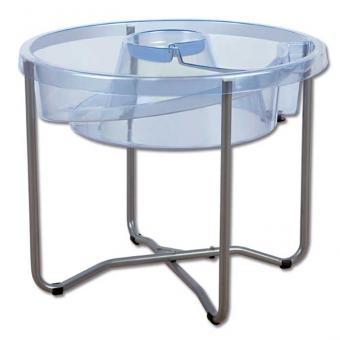 Wasserspieltisch in Spiralform