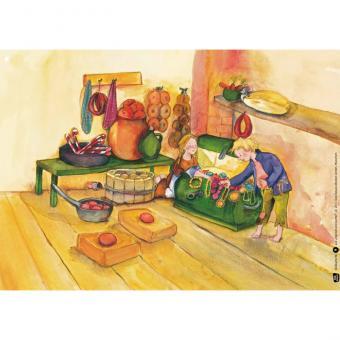 Kamishibai-Bildkarten, Hänsel und Gretel