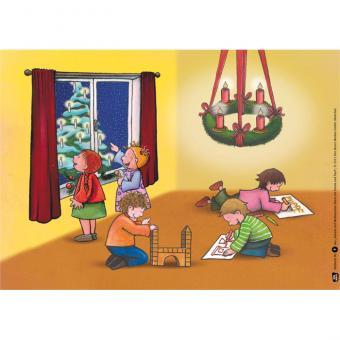 Kamishibai-Bildkarten, Advent und Weihnachten feiern mit Emma und Paul