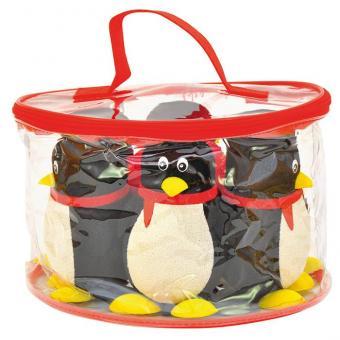 Pinguin-Bowling