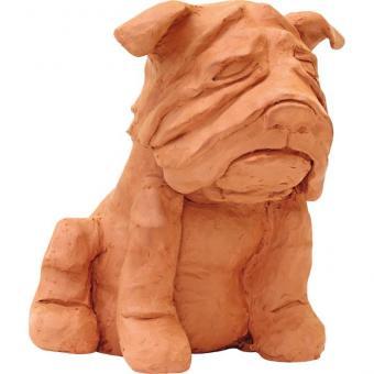 Terracotta Modelliermasse 1 kg