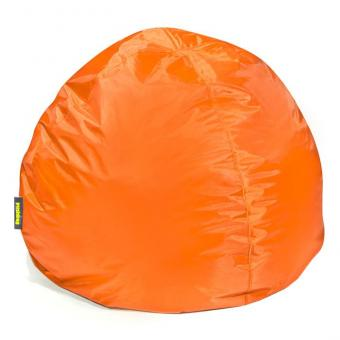 Runder Sitzsack in Orange - ca. 100 x 70 cm