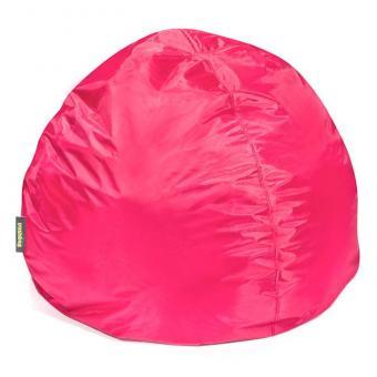 Runder Sitzsack in Pink - ca. 115 x 95 cm