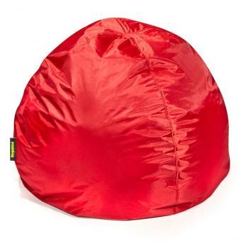 Runder Sitzsack in Rot - ca. 100 x 70 cm