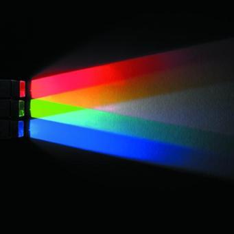 LED-Farbstrahler in Primärfarben