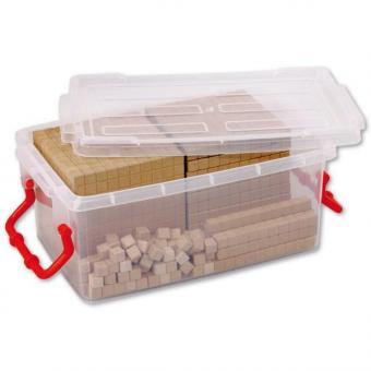 Zehner-Systemsätze aus RE-Wood® Zehner-Systemsatz - Erweitert - in transparenter Box