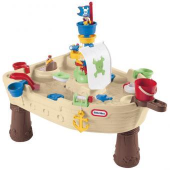 Wasserspieltisch Piratenschiff