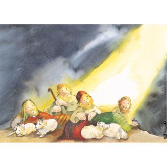 Kamishibai-Bildkarten, Jesus wird geboren