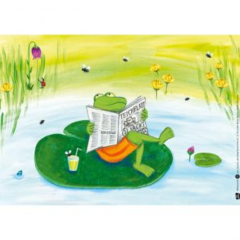 Kamishibai-Bildkarten, Quacki, der kleine freche Frosch