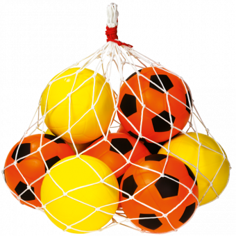 Schaumstoff Fuß- und Volleybälle, Spar-Set 2