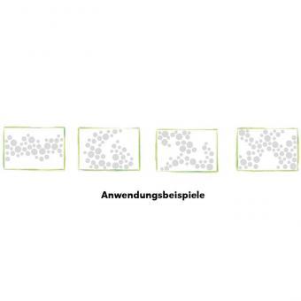 Runde Schallabsorber-Platten Weiß - Ø 40 cm