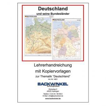 Wandkarten -  Deutschland