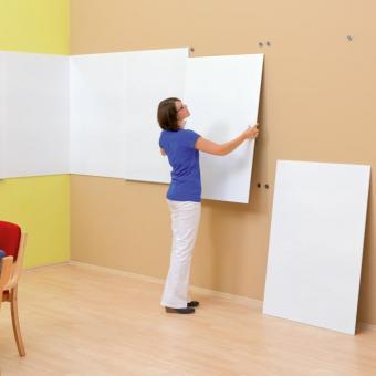 Langflächen-Whiteboard  - neutral