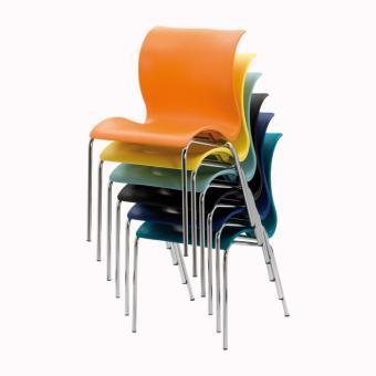 Design-Schalenstühle